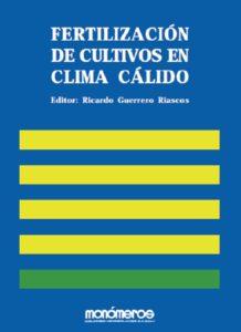 Libro fertilización de cultivos en clima cálido