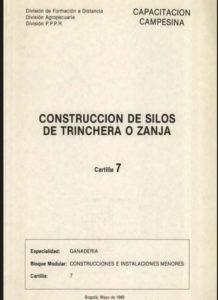 Construcción De Silos De Trinchera O Zanja