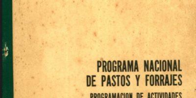 Programa Nacional de Pastos y Forrajes